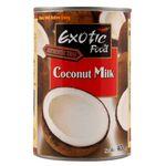 Alimento de coco exotic food, 400 ml