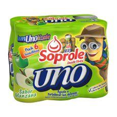 Bebida-Lactea-Soprole-Uno-Manzana-Pack-6-unid-x-80-ml
