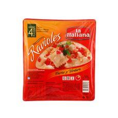 Ravioles-de-Carne-y-Verdura-La-Italiana-Bandeja-500-grs.
