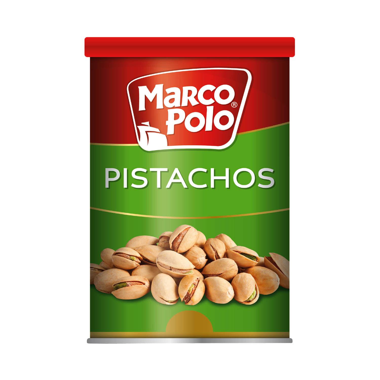 Pistachos Marco Polo Pote 128 grs. | Jumbo.cl - Jumbo