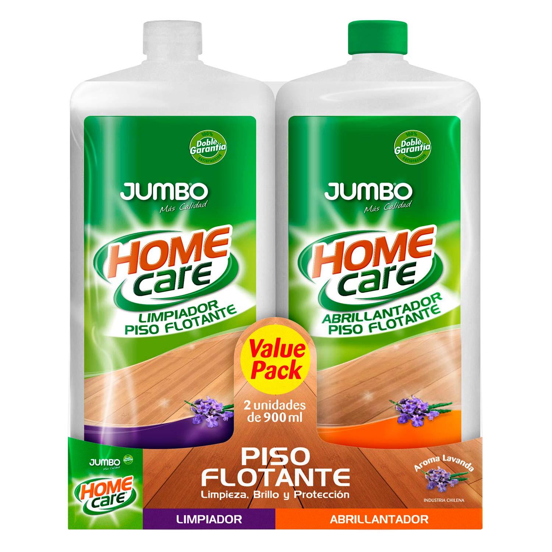Pack Piso Flotante Home Care Limpiador + Abrillantador | Jumbo.cl ...