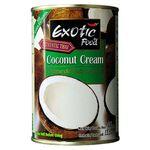 Crema de coco Exotic Food 400 cc, libre de colesterol
