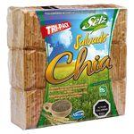Pack galletas de salvado y chía Selz 3 unid. 519 g