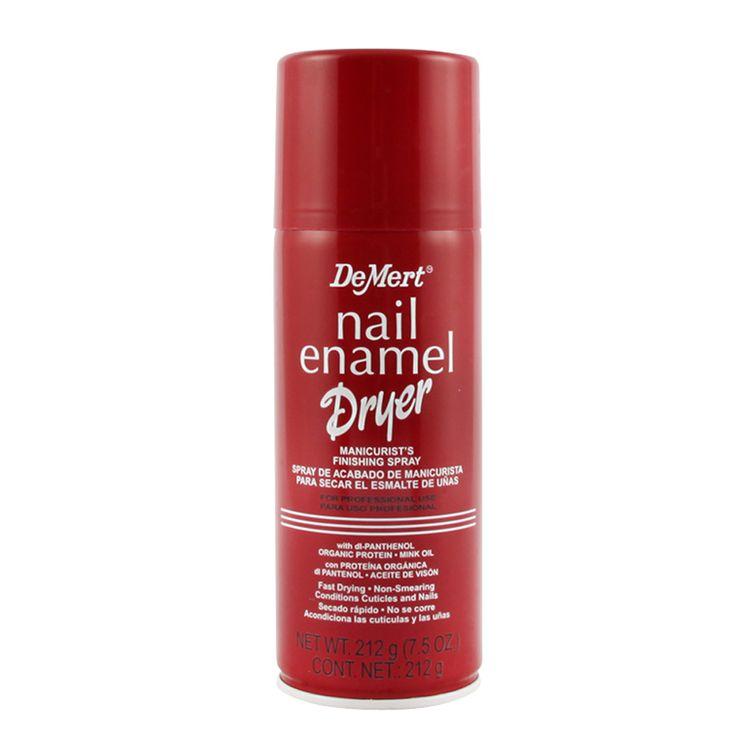 Secante de esmalte para uñas en spray Demert 212 g - Jumbo