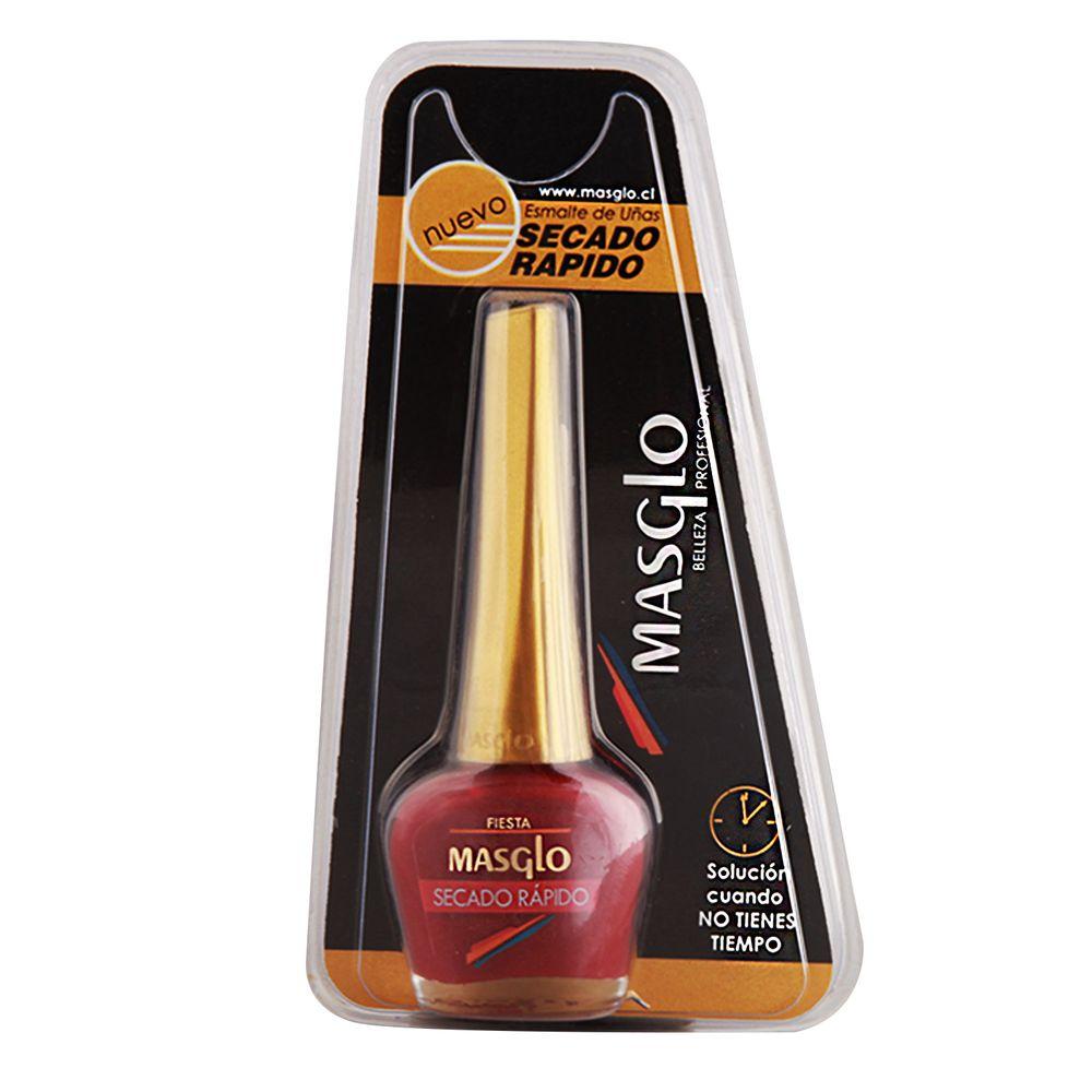 Esmalte de uñas Masglo, de secado rápido, color fiesta, cremoso - Jumbo