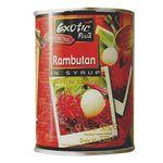Rambután Exotic food en almíbar 565 g dr