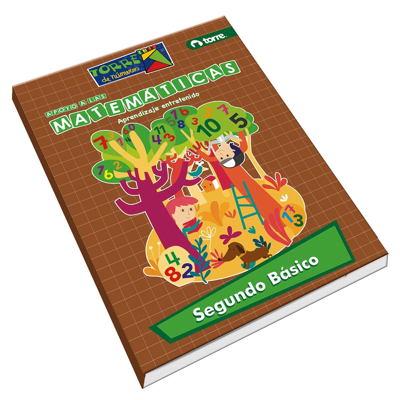 Cuaderno matemáticas Torre de números 2° básico 64 hojas - Jumbo