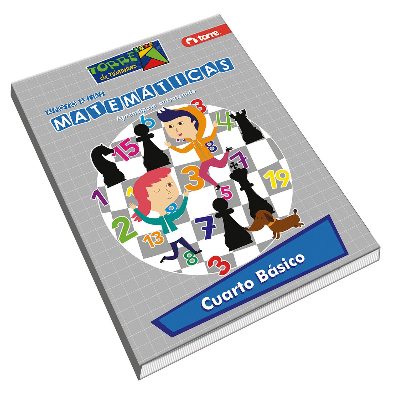 Cuaderno matemáticas Torre de números 4° básico 64 hojas - Jumbo