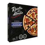 Pizza congelada Receta del Abuelo supreme 620 g