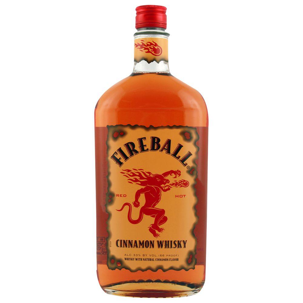 Whisky Fireball 750 Ml Cinnamon 33 Jumbo # Muebles Para Guardar Whisky