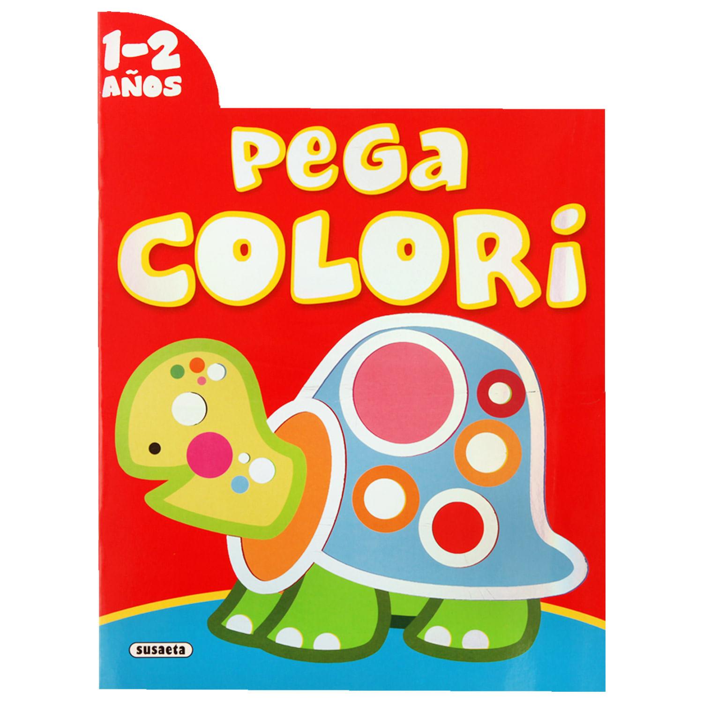 Libro de Colorear Susaeta Pega Colori - Jumbo