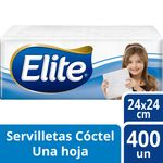 Servilletas Elite Pack Cocktail 400 unid.idades