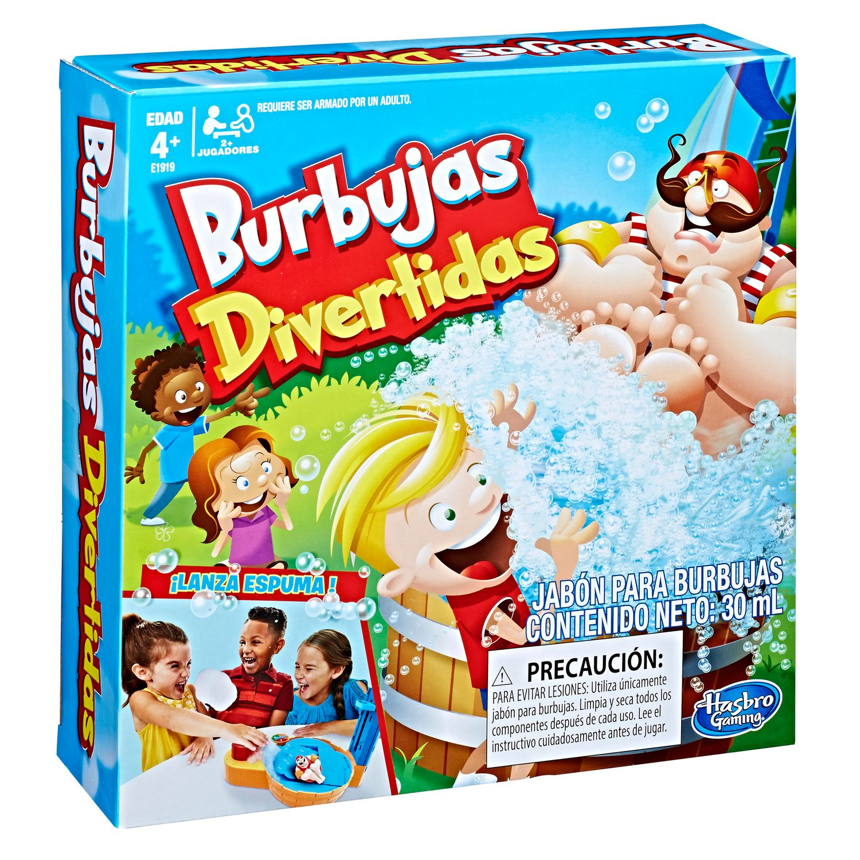 Juego Hasbro Burbujas Divertidas Jumbo