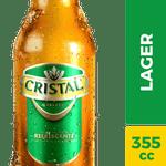 Cerveza lager botella 355 cc