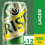 Pack 12 un. cerveza 350 cc c/u