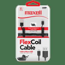 Cable-carga-Maxell-micro-USB-negro-1-48082758