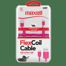 Cable-carga-Maxell-micro-USB-Pink-1-48082760