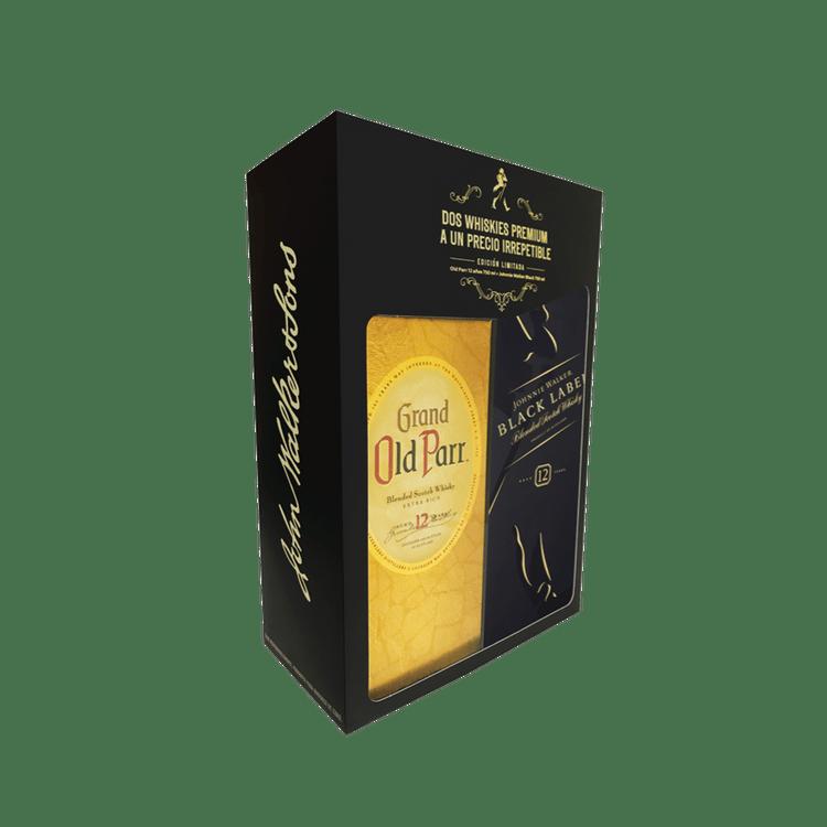 Whisky-Johnnie-Walker-Black-750-cc---Old-Par-750-cc-1-48082851
