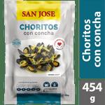 Choritos con concha 454 g