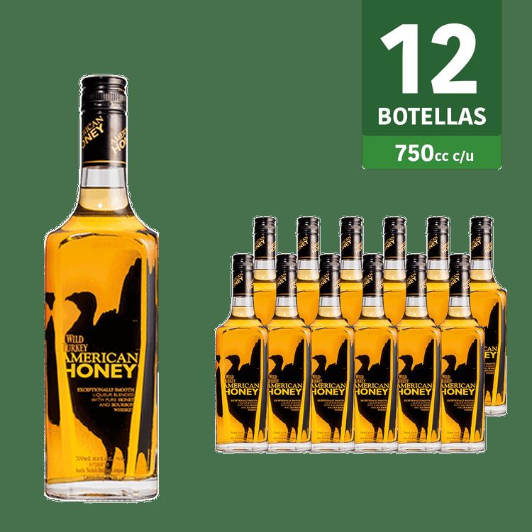 Caja-whisky-Wild-Turkey-American-Honey-405°-12-botellas-750-cc-c-u-1-109460009
