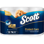 Papel higiénico Scott supreme care doble hoja 12 unid 27,5 m c/u