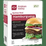 Hamburguesa Mezcla De Quinoa Andean Valley 375 G