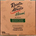 Pizza artesanal mexicana congelada 830 g