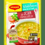 Sopa de caracolitos Come bien Vivebien 68 g