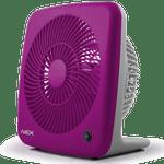 """Ventilador de mesa, modelo BOX VBC720VR 7"""" violeta"""