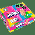 Helado Kriko mini 6 un. 50 ml c/u