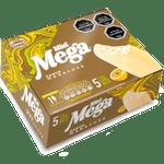 Helado Mega mini blanco maracuyá 5 un. 60 ml c/u