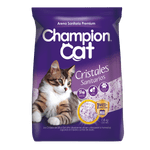 Arena sanitaria champion cat silica 1.6 kg