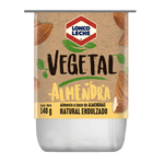Yoghurt vegetal almendra natural endulzado 140 g