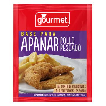 Base para Apanar Gourmet Sobre 80 g, Pollo, Pescado