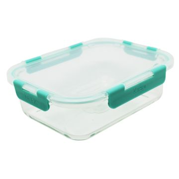 Hermético de vidrio cuadrado 2.5 L (surtido)